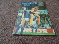 Ipswich Town v Arsenal, 1981/82